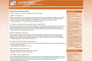 Oxford News